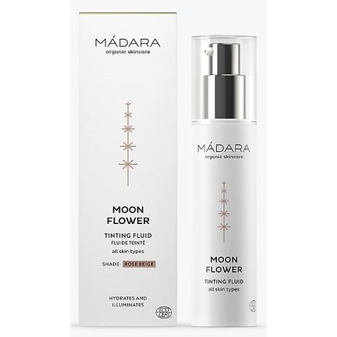 Madara Moon Flower Crème Fluide Teintée Beige Rosé