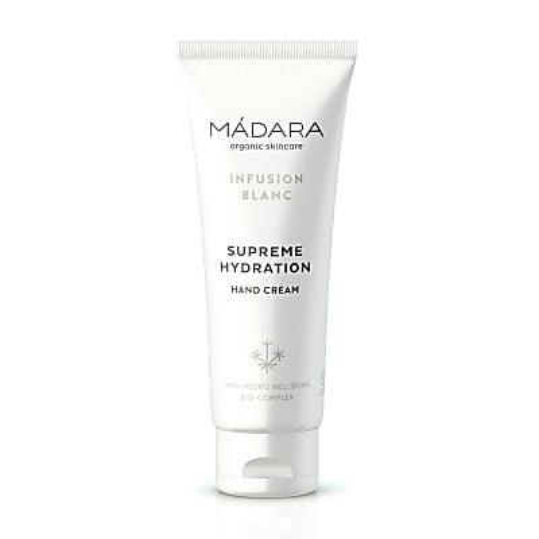 Madara Crème Mains Hydratante Infusion Blanc