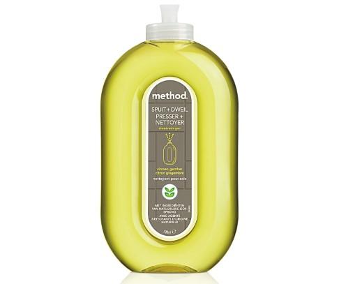 Method - Nettoyant Ecologique pour Sols Citron & Gingembre - 739 ml