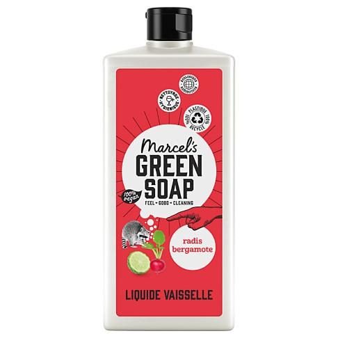 Marcel's Green Soap Liquide Vaisselle Radis & Bergamote