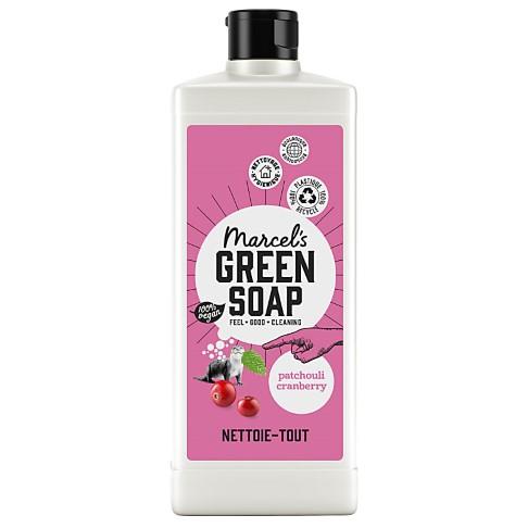 Marcel's Green Soap Nettoie-Tout Patchouli & Canneberge