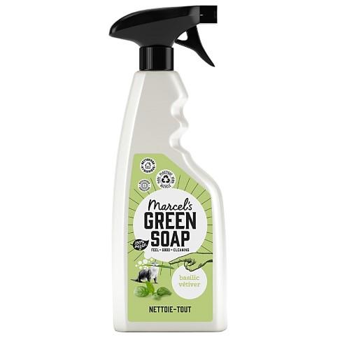 Marcel's Green Soap Spray Nettoie-tout Basilic & Vétiver