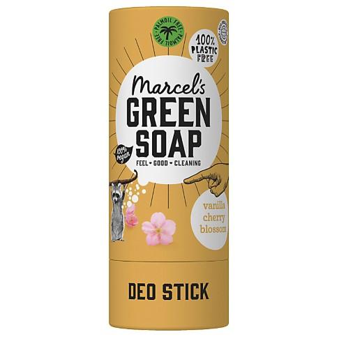 Marcel's Green Soap Déodorant Sans Plastique Vanille & Fleur de Cerisier