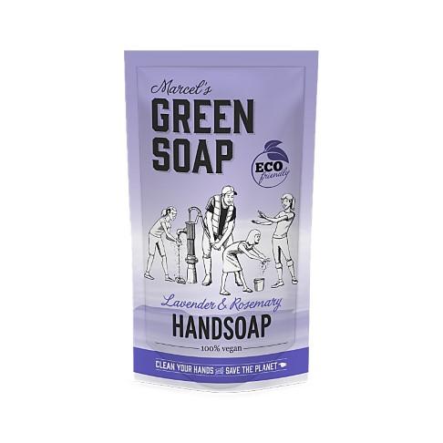 Marcel's Green Soap Savon Main Lavande & Clou de Girofle Sachet de Recharge 500ML