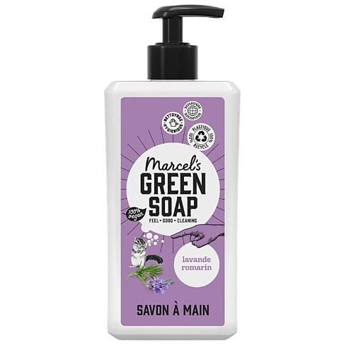 Marcel's Green Soap Savon Main - Lavande & Romarin (500ml)