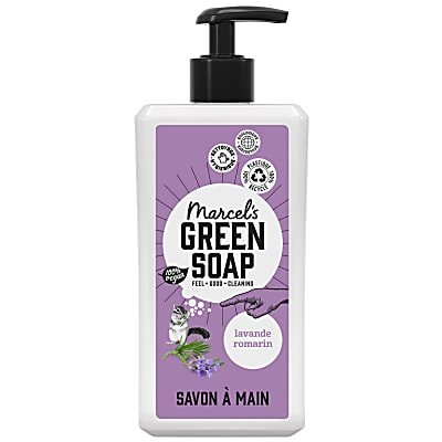 Marcel's Green Soap Savon Main - Lavande & Romarin (500ml)