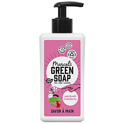 Marcel's Green Soap Savon Main Patchouli et Canneberge