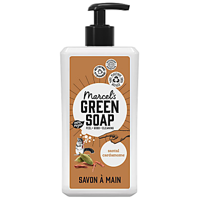 Marcel's Green Soap Savon Main Santal & Cardamome (500ml)