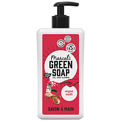 Marcel's Green Soap Savon Main - Argan & Oudh (500ml)