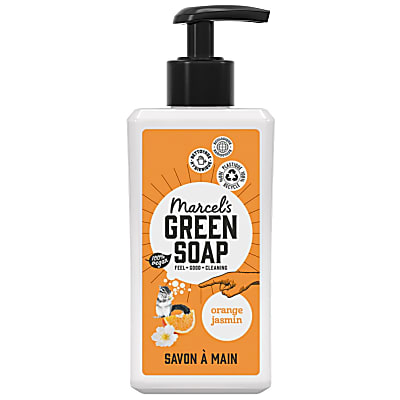 Marcel's Green Soap Savon Main Orange & Jasmin