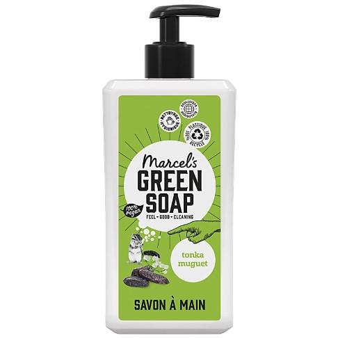 Marcel's Green Soap Savon Main - Tonka & Muguet (500ml)
