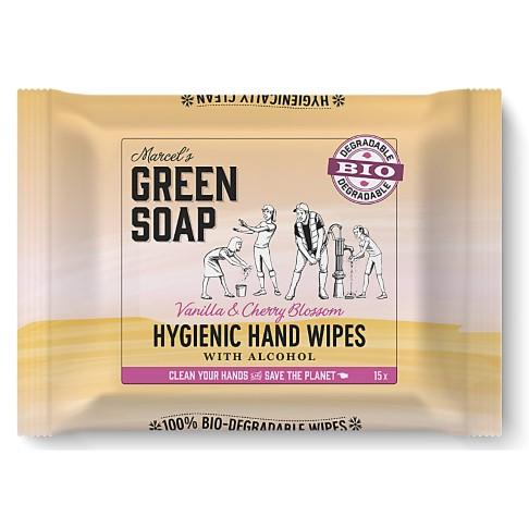 Marcel's Green Soap Lingettes Hygiéniques Mains