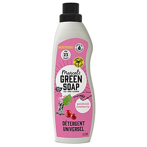 Marcel's Green Soap Détergent Liquide Patchouli et Canneberge
