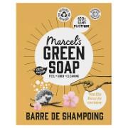 Marcel's Green Soap Shampooing Solide en Barre Vanille & Fleur de Cerisier