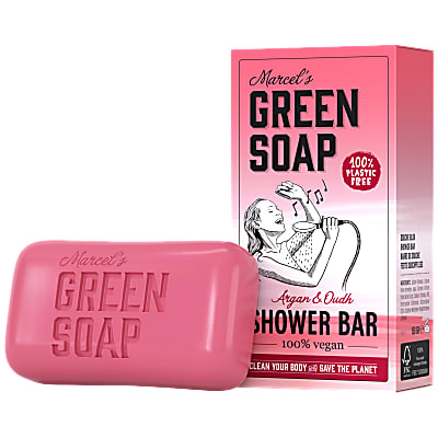 Marcel's Green Soap Barre de Douche Argan & Oudh