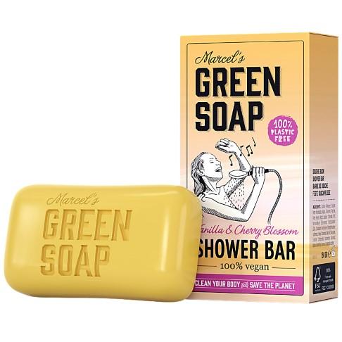 Marcel's Green Soap Barre de Douche Vanille & Cerisier