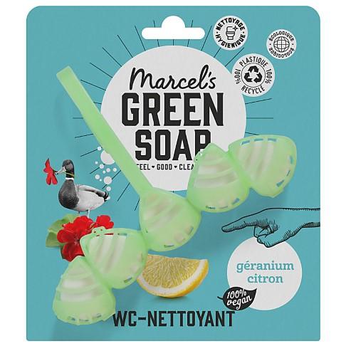 Marcel's Green Soap Bloc WC Géranium et Citron