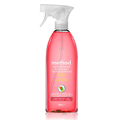 Method Nettoyant Multi-Surfaces Pamplemousse Rose 490ml