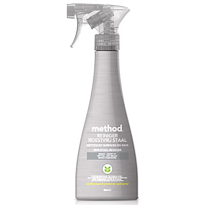 Method - Spray Nettoyant Inox - 354 ml