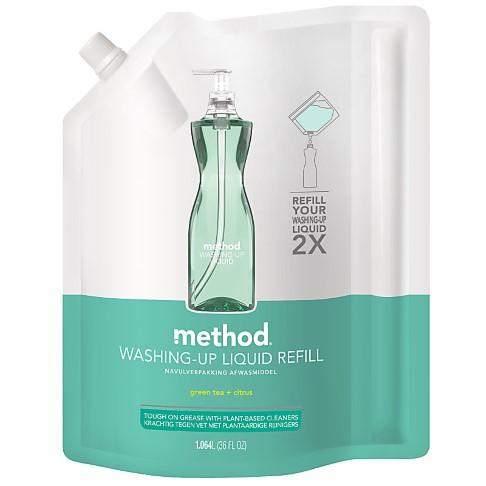 Method Liquide Vaisselle Thé Vert & Agrumes Recharge