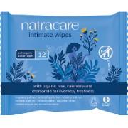 Natracare - Lingettes Intimes Féminines en Coton Biologique