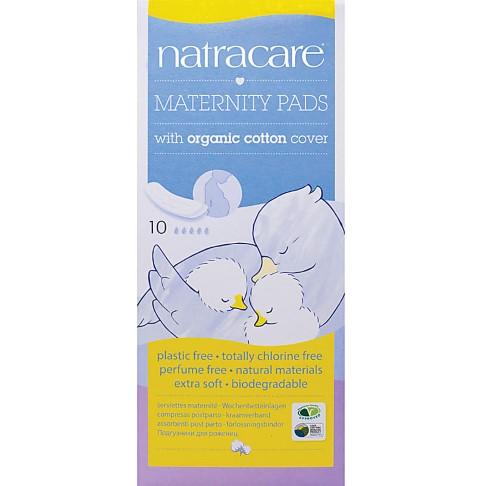 Natracare -  Serviettes de maternité & Coussinets d'allaitement