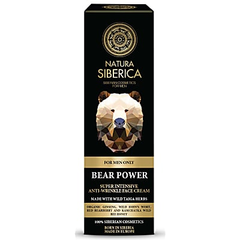 Natura Siberica Homme Crème Visage Anti-Rides - Bear Power