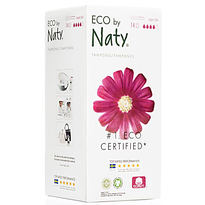 Naty Tampons - Super Plus avec Applicateur (14)
