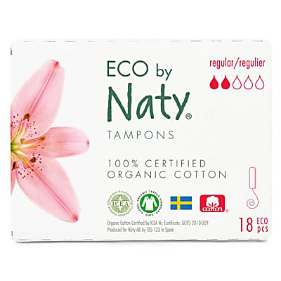 Naty Tampons - Regulier (18)
