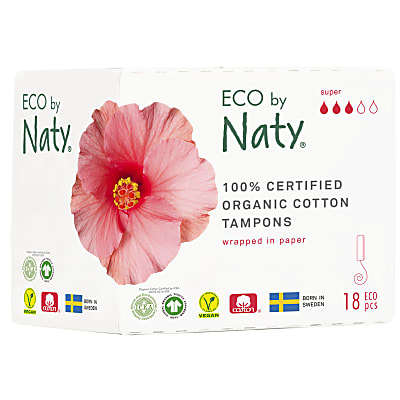 Naty Tampons - Super (18)