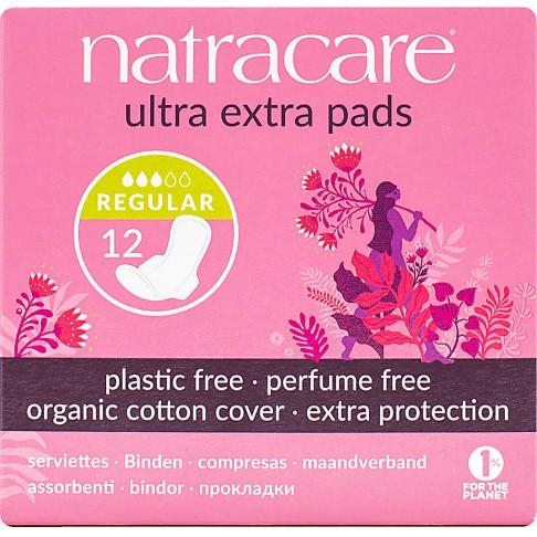 Natracare Serviettes Hygiéniques Naturelles Ultra Extra