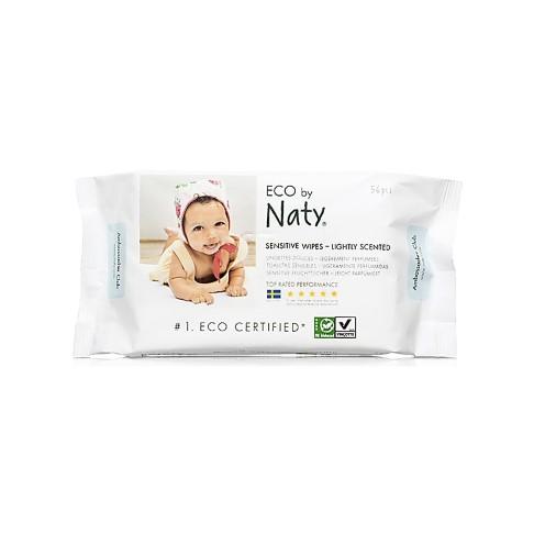 Naty by Nature Babycare - ECO Lingettes Douces Légèrement Parfumées