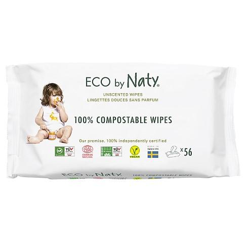 Nature Babycare - ECO Lingettes Douces Sans Parfum