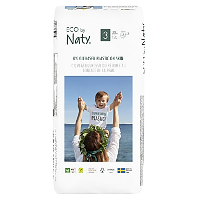 Naty by Nature Babycare - Couches Taille 3 - Pack Économique