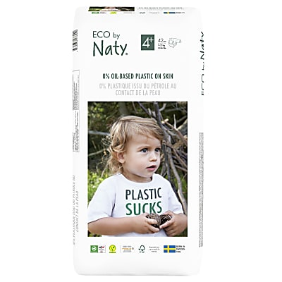Naty by Nature Babycare - Couches Taille 4+ - Pack Économique