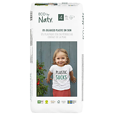 Naty by Nature Babycare - Couches Taille 4 - Pack Économique