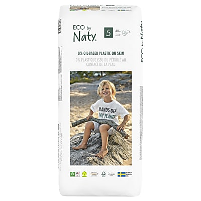 Naty by Nature Babycare - Couches Taille 5 - Pack Économique