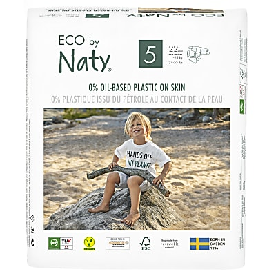 Naty by Nature Babycare - Couches : Taille 5