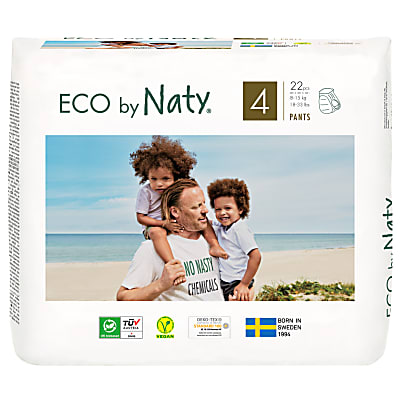 Naty by Nature Babycare - Culotte d'Apprentissage : Taille 4 Maxi/Maxi Plus