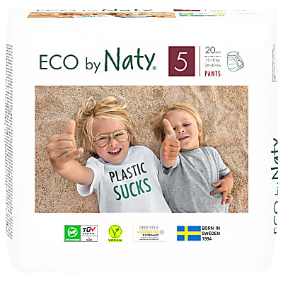 Naty by Nature Babycare - Culotte d'Apprentissage : Taille 5 Junior