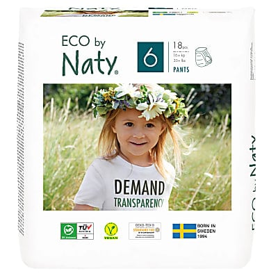 Naty by Nature Babycare - Culotte d'Apprentissage : Taille 6 X Large