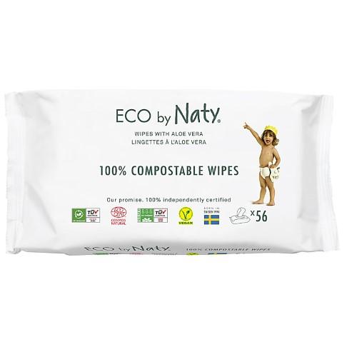 Naty by Nature Babycare - ECO Lingettes Aloe Vera