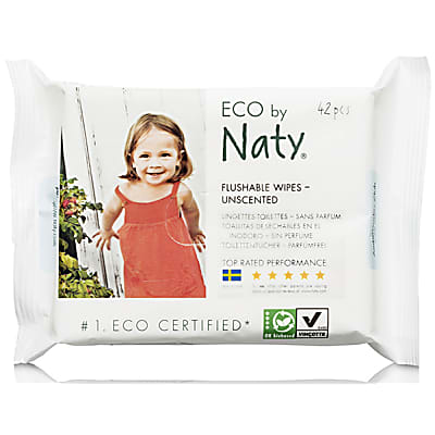 Naty by Nature Babycare - Eco Lingettes Sans Parfum