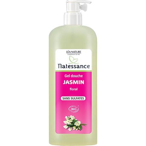 Natessance - Gel douche Jasmin floral - Sans Sulfates