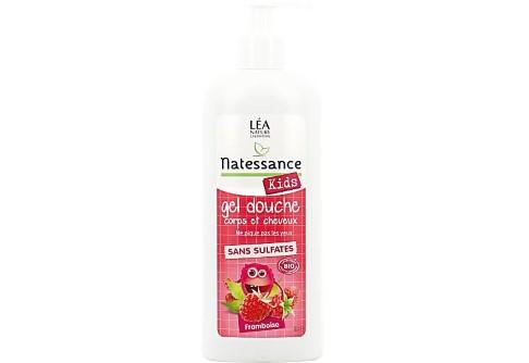 Natessance - Shampooing Douche Kids Framboise