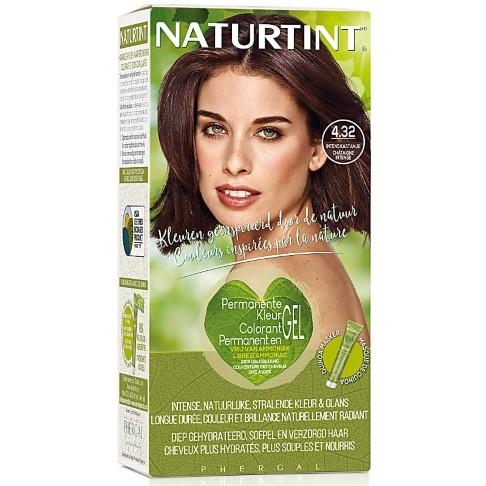Naturtint - Coloration Capillaire Naturelle - 4.32 Châtaigne intense