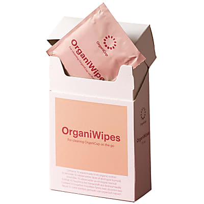 OrganiCup OrganiWipes - 10 pièces