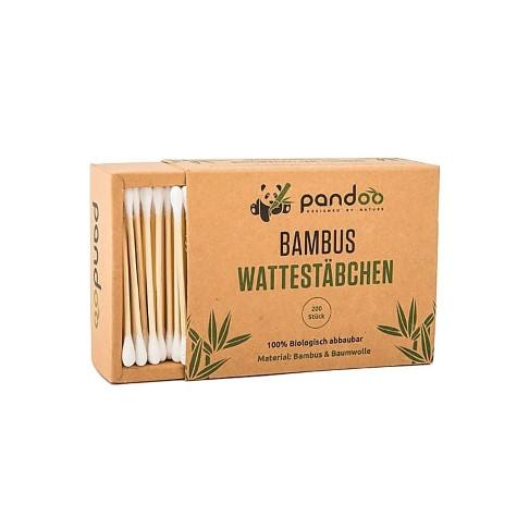 Pandoo Cotons-Tiges en Bambou (200 unités)