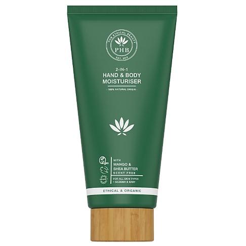 PHB Ethical Beauty Crème hydratante 2 en 1 pour les Mains et le Corps