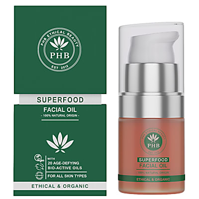 PHB Ethical Beauty Superfood Huile Visage